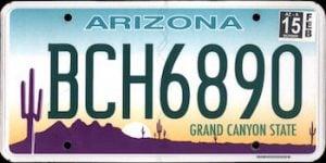 Free Arizona License Plate Lookup | Free Vehicle History