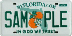 Florida License Plate
