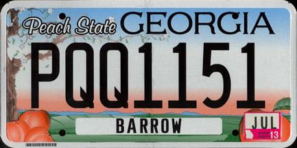 Free Georgia License Plate Lookup | Free Vehicle History | VinCheck info