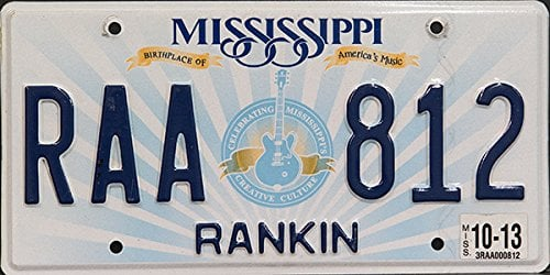 Free Vehicle History Report By Vin >> Mississippi License Plate Lookup | Free Car History, Specs ...