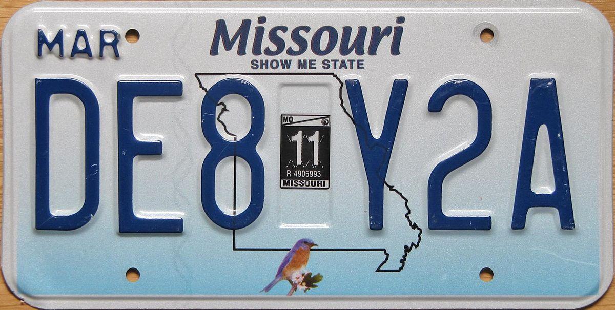 Car Vin Lookup >> Free Missouri License Plate Lookup   Free Vehicle History ...