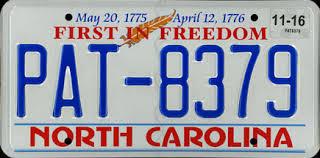 Free North Carolina License Plate Lookup   Free Vehicle History