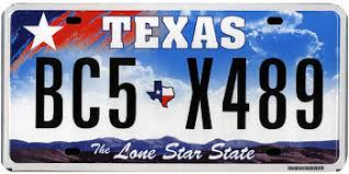 Free Texas License Plate Lookup   Free Vehicle History