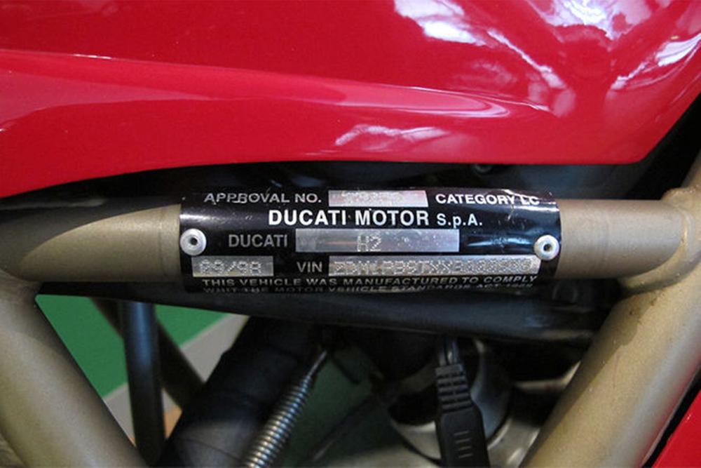 Ducati VIN Check