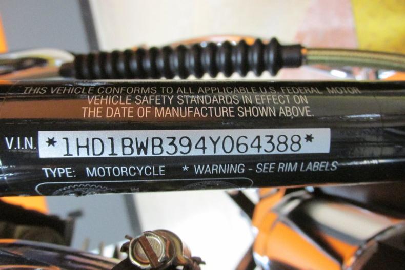 Harley Motorcycle VIN Check